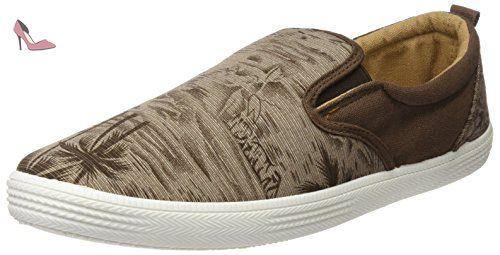 Chaussures Homme Eu Marron Pour 42 Baskets Canvas Beppi 2149720 W81wBxqg87