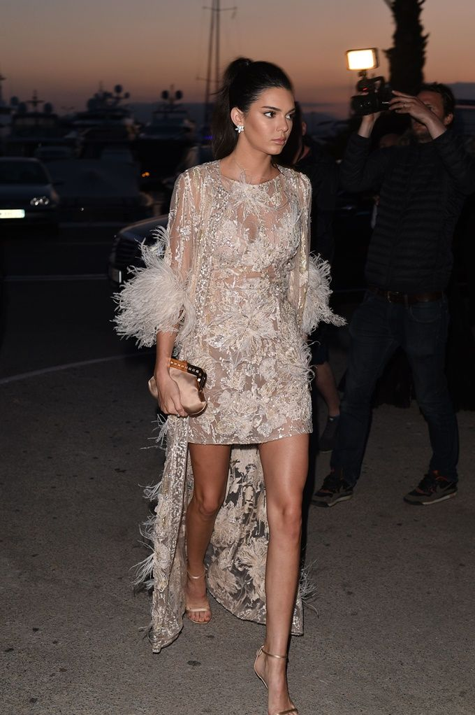 Kendall Jenner Rocking See Through Dress Kendalljenner Celebrity