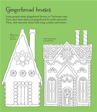 Usborne See Inside: Christmas wonderland to colour