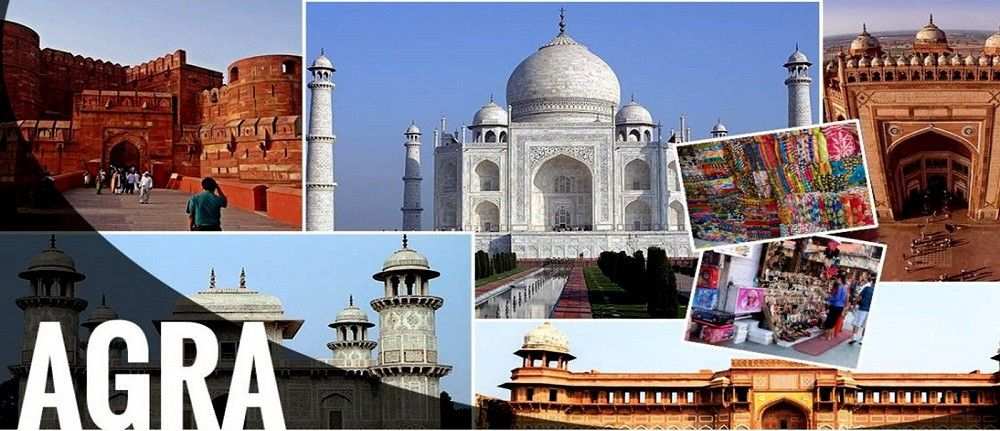 Book Now Top Recommended Same Day Agra Tour by Car From Delhi to ...