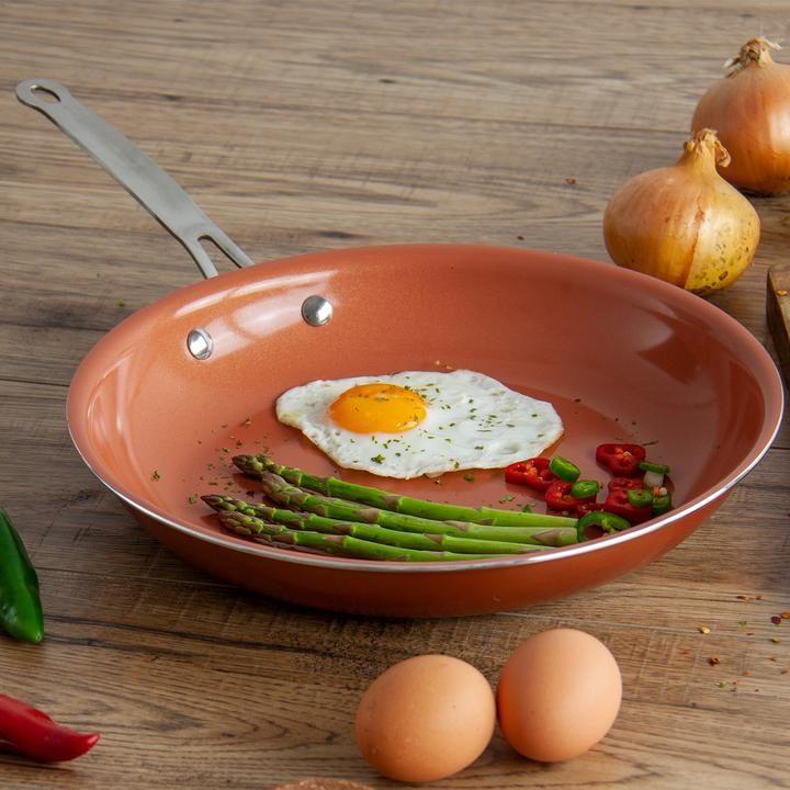 Aeris nonstick ceramic coated aluminium frying pan 20 cm