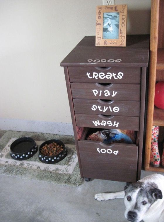 Pin By Melissa Eastin On Diseno Dogs Diy Projects Dog Organization Diy Dog Stuff
