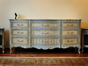 Painted Furniture For Sale Painted French Provincial Vintage