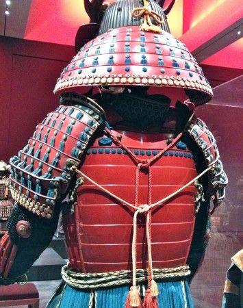 Samurai back