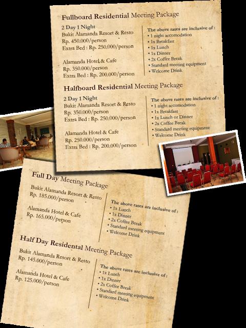 Paket Meeting Di Bukit Alamanda Resort Hotel Di Garut Hdg Team Resort Welcome Drink Garut