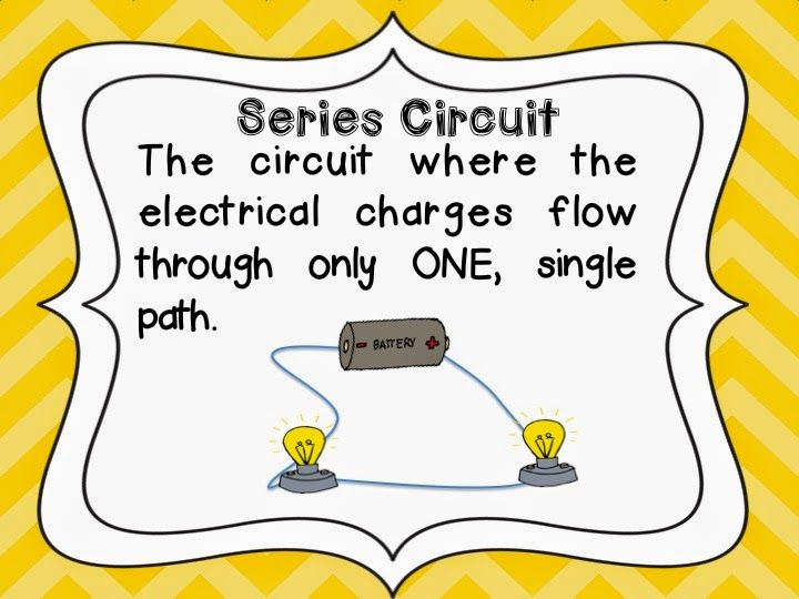 Science Concept Series And Parallel Circuits For This Science Lab And