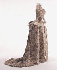 Dress | House of Worth | France; Paris | 1875 | silk | Landesmuseum Württemberg | Museum #: 1988-266 a,b