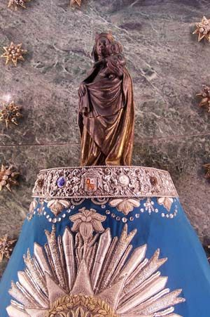 Our Lady of the Pilar, Spain. http://www.pilgrim-info.com/europe/spain/basilica-of-our-lady-of-the-pilar-spain/