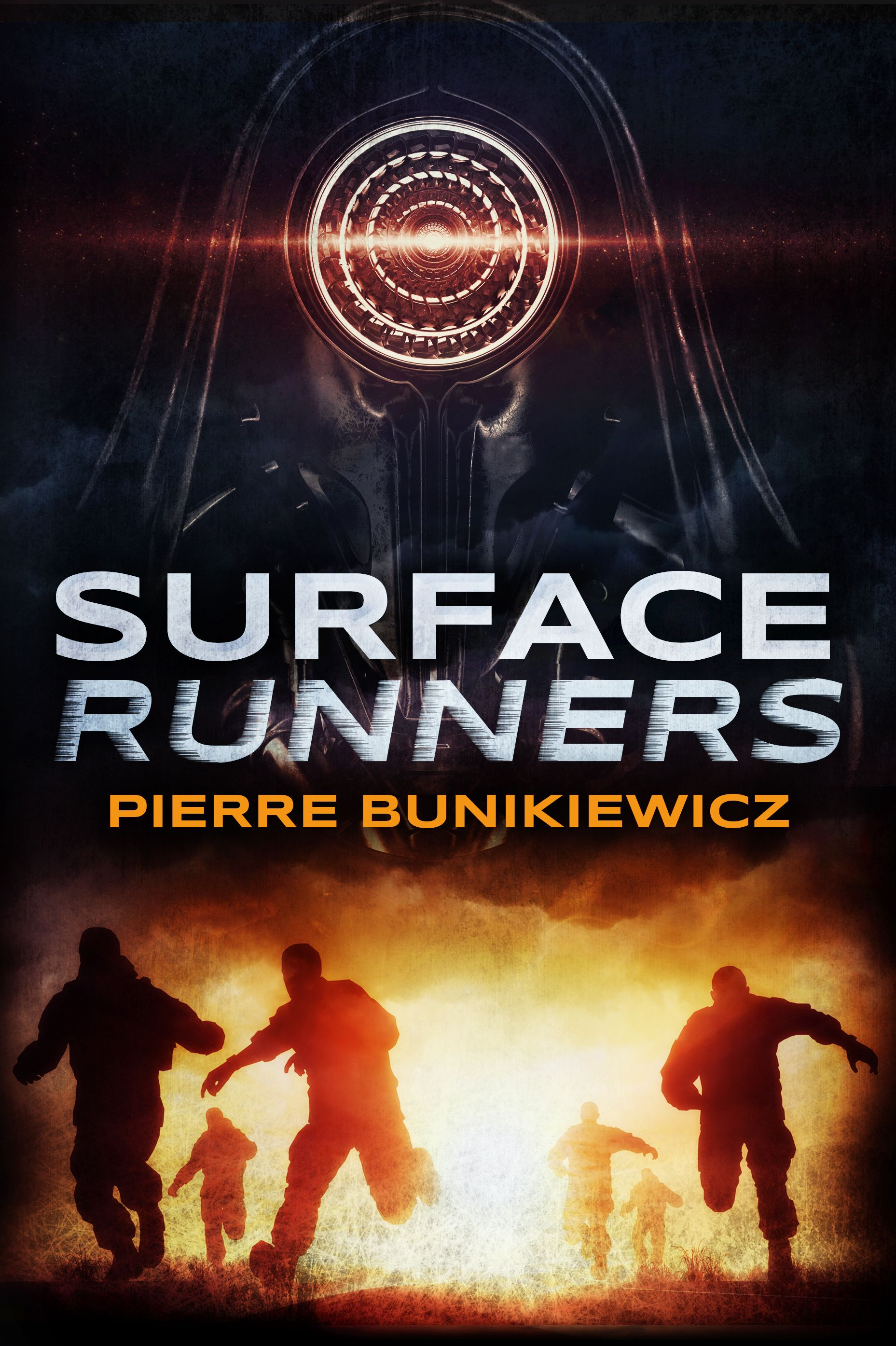 Surface Runners scifi young adult book cover design