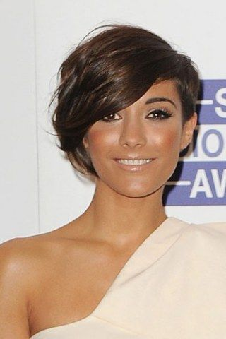 Frankie Sandford may be best known for her short hair look but she's gone and left those days behind her. The Saturday star and expecting...