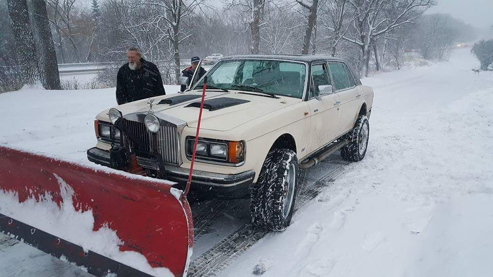 Plowing in style