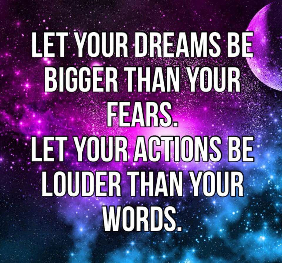 Motivational quotes dream quotes dream big quotes action quotes - Let Your Dreams Bigger Than Your Fears Dream Bigquotes Motivationmotivation