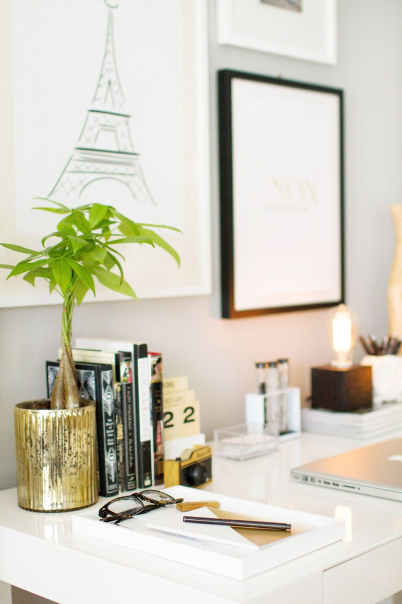 style west elm parsons. How To Style The West Elm Parsons Desk
