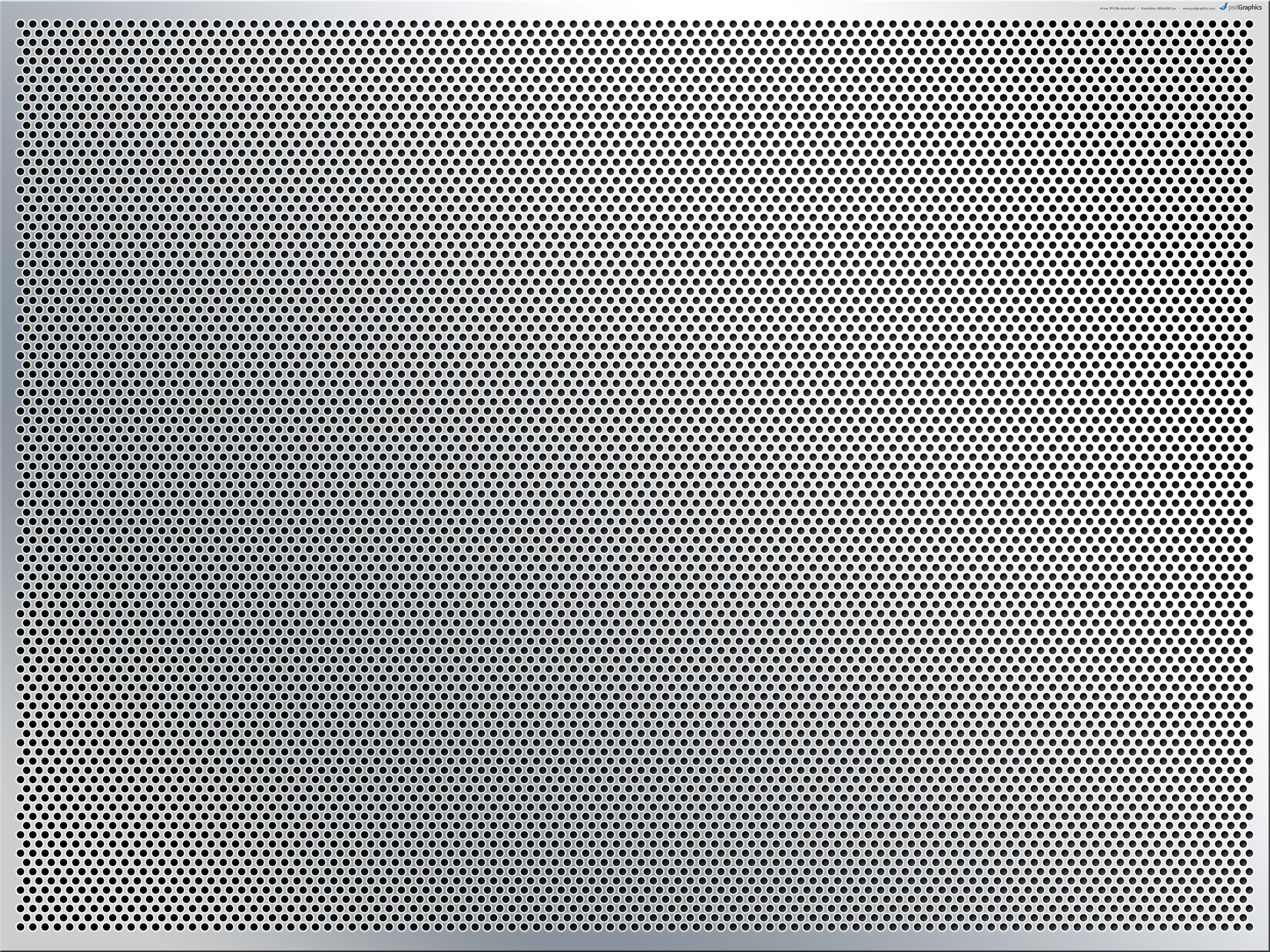Stainless Steel Mesh Background Psdgraphics Perforated Metal Metal Texture Metal Mesh