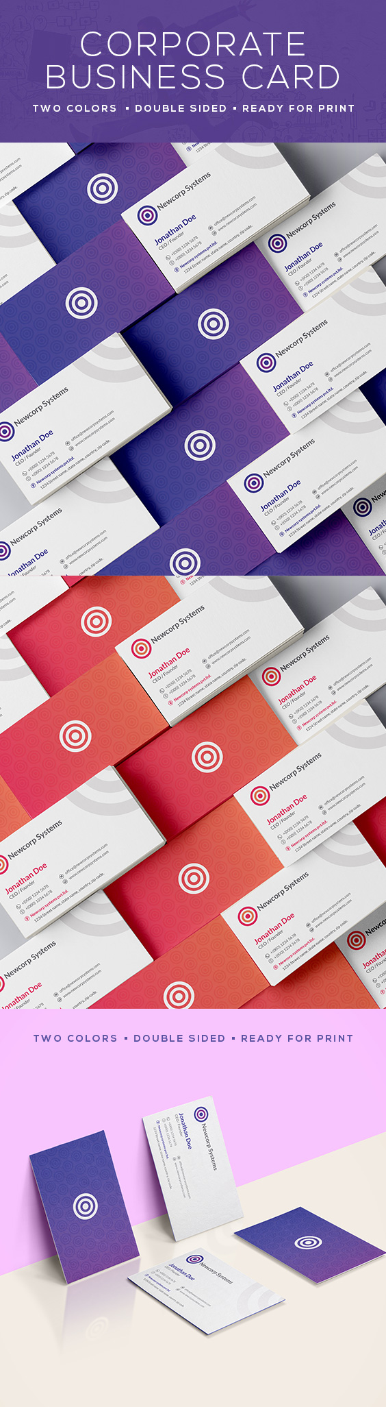 Corporate business card 33 creative business cards pinterest corporate business card 33 reheart Images