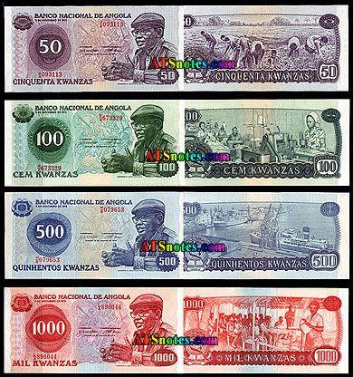 angola currency | Angola banknotes - Angola paper money catalog and