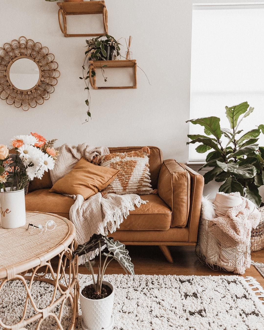 Shyla Cino On Instagram Although I Love Visiting Friends And Family In Florida It S Not Boho Living Room Interior Design Living Room Bohemian Living Room