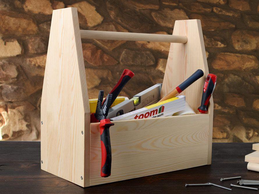 Toom Kreativwerkstatt Werkzeugkiste Werkzeugkiste Werkzeug Kiste
