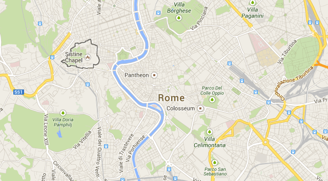City Sightseeing Rome Hop On Off Bus Tours 19 Euros: City Sightseeing Rome Map At Slyspyder.com