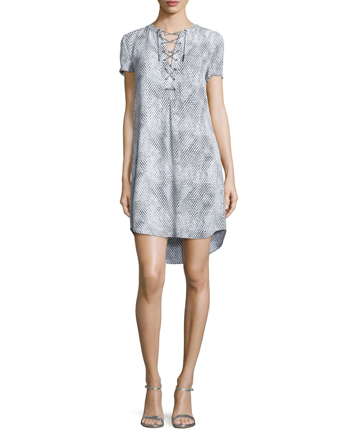 Safari Ceremony Dress W/ Chain Lace-Up