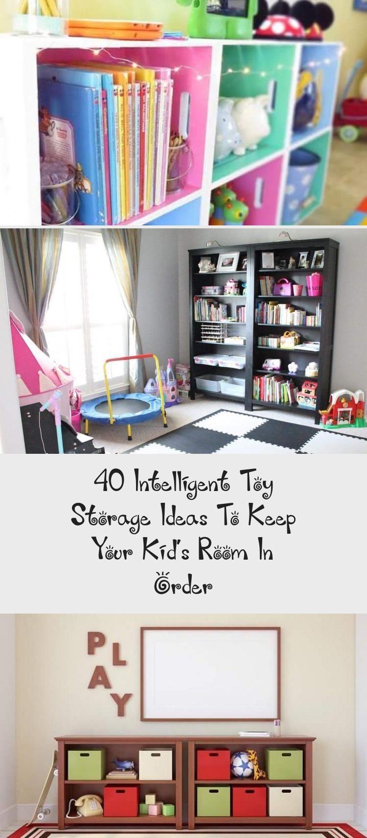 40 Ideen zur intelligenten Aufbewahrung von Spielzeugen, um Ihr Kinderzimmer in …