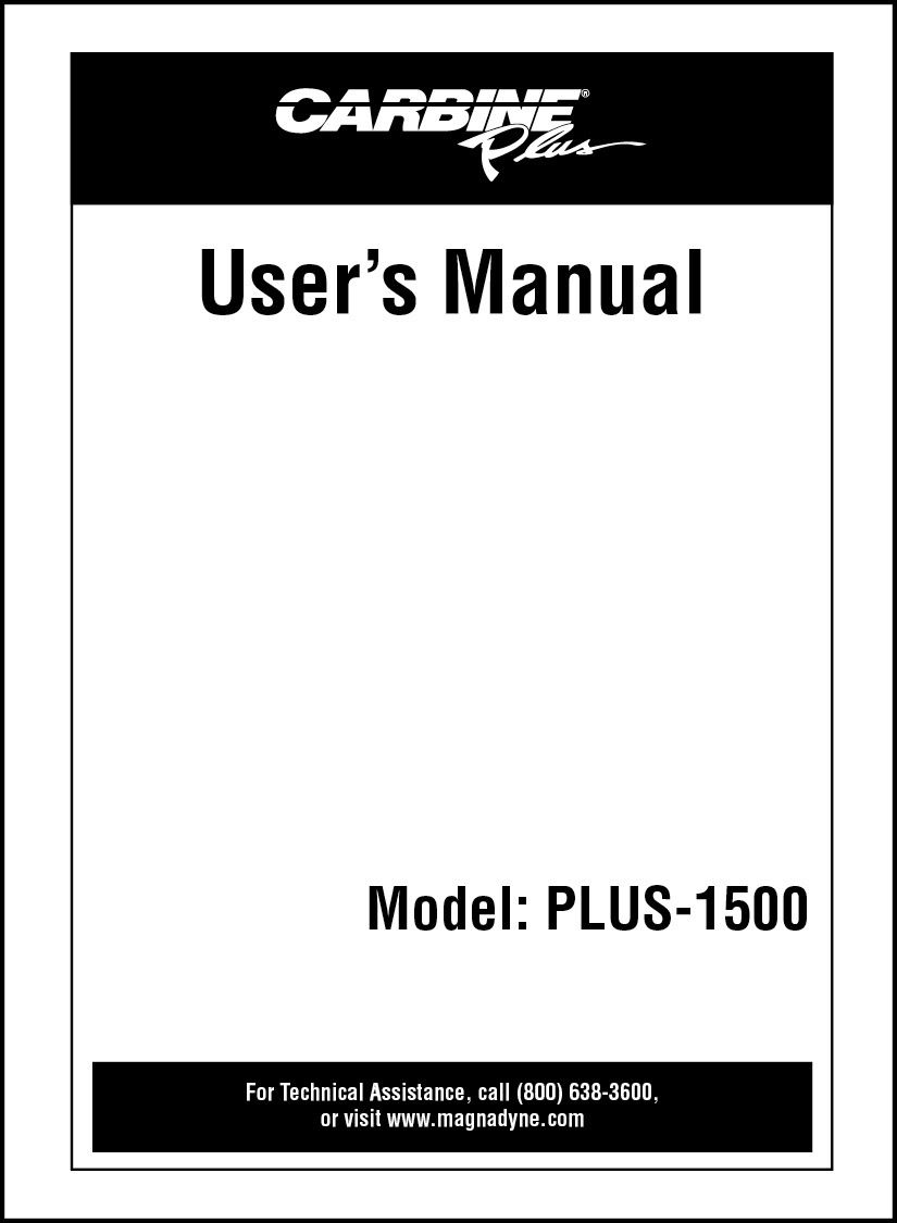 Carbine Plus 1500 Owners Manual Magnadyne Manuals Pinterest Remote Keyless Entry Wiring Diagram Of The Features And Benefits Engine Starter With System You Can Find All This In Online