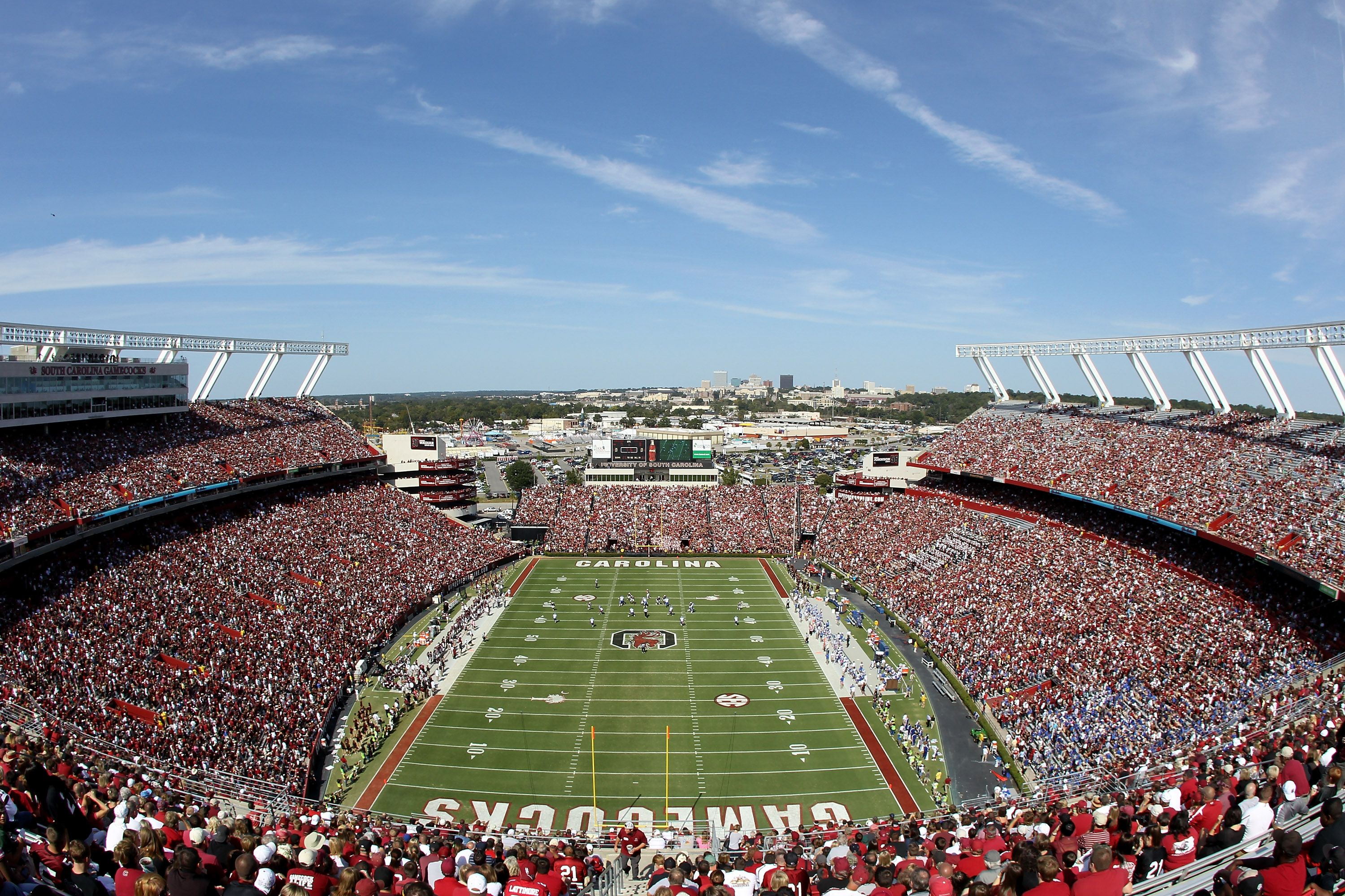 Williams-Brice Stadium is home to the University of South ...