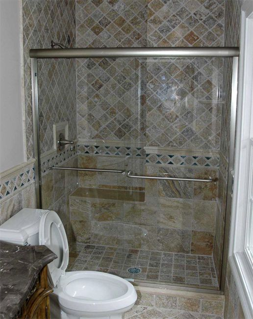 Nj Mirrow And Glass Residential Projects Shower Doors Bathroom