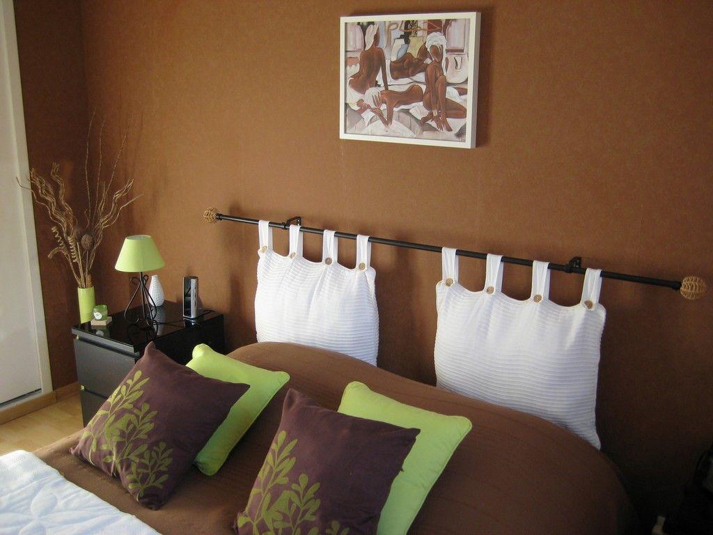 style idée déco chambre marron  Déco chambre marron, Déco chambre