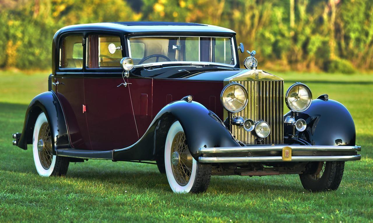Details about 1933 RollsRoyce Phantom II sports saloon by