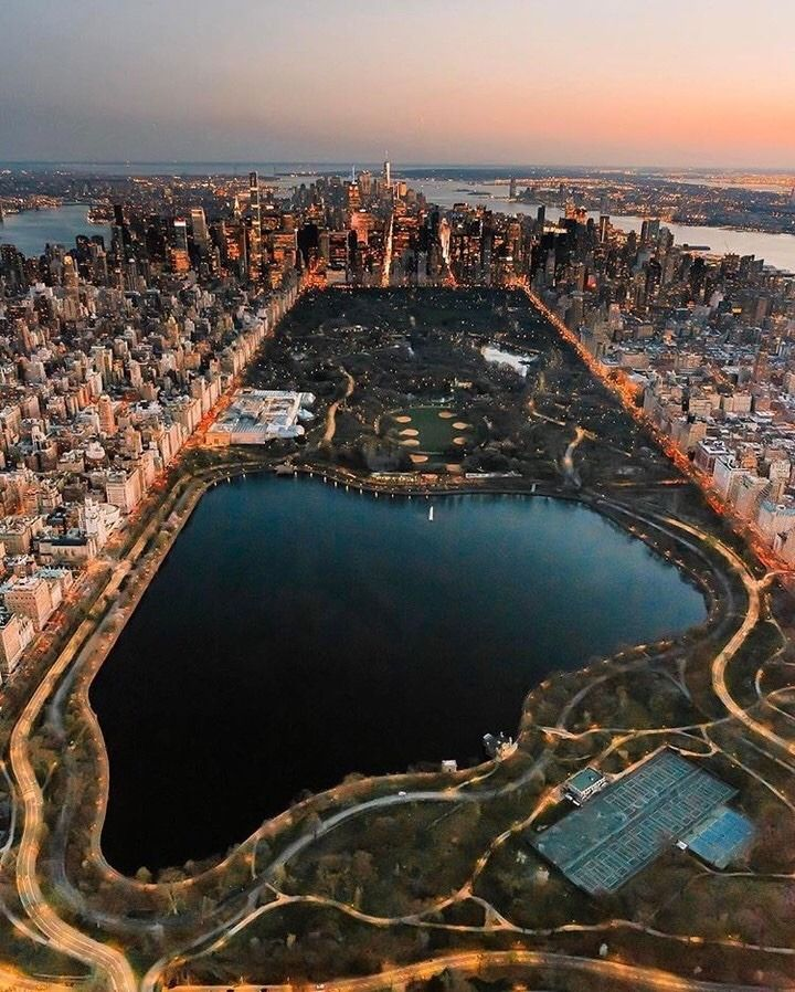 From New York City: Central Park From Above By Mike Gutkin In 2019