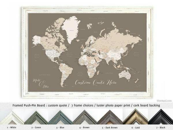 Anniversary t husband t travel lover t push pin map