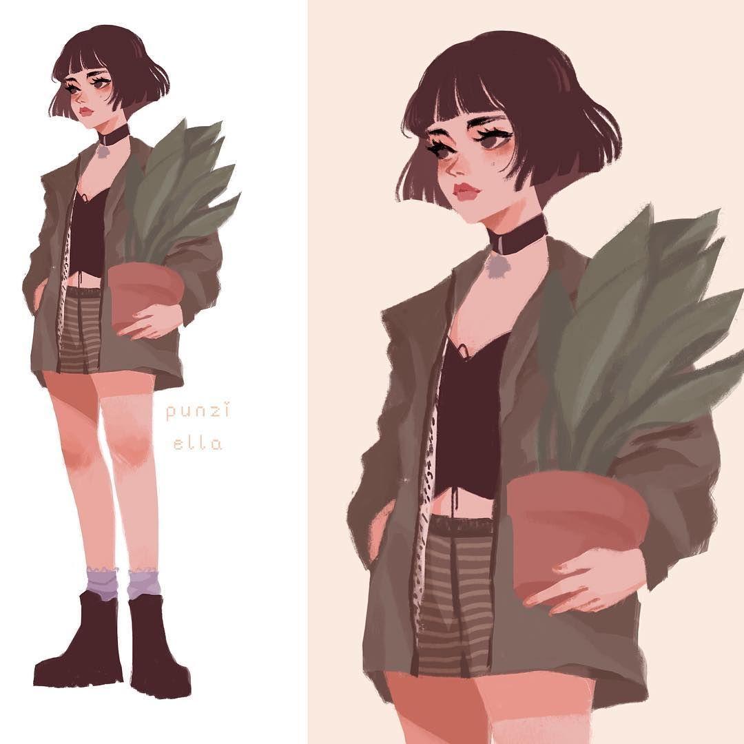 Character Design Instagram : Consulta esta foto de instagram punziella mil