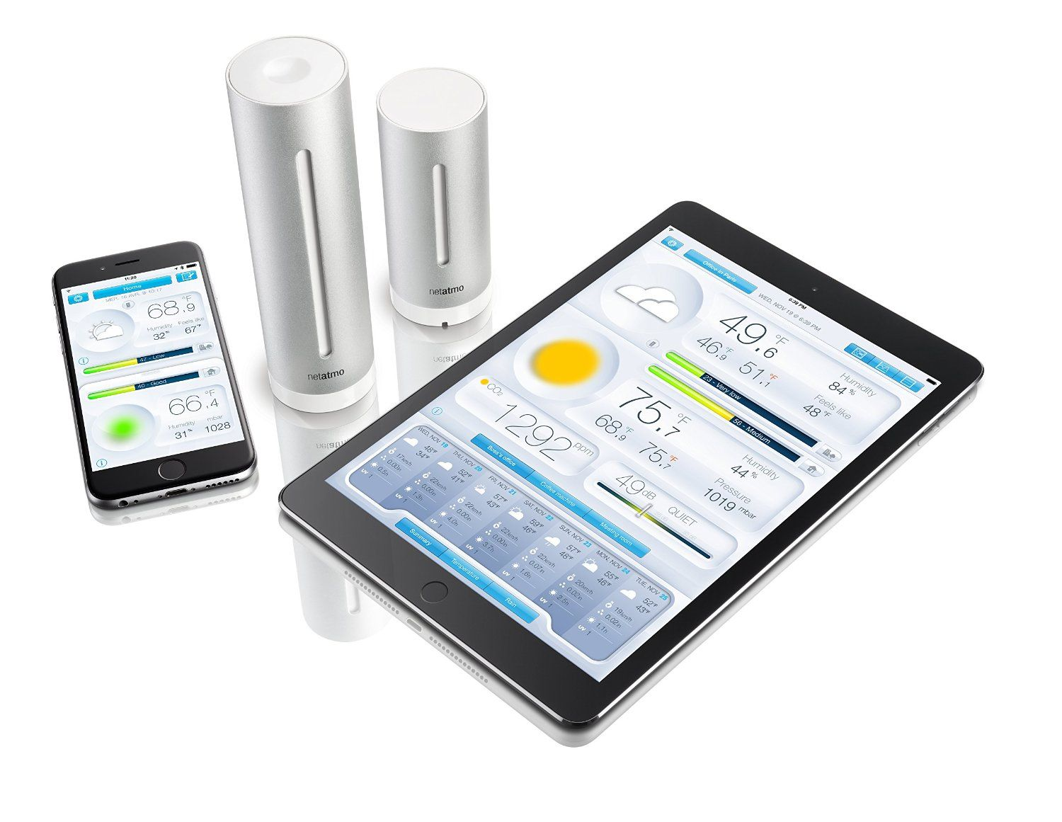Netatmo Weather Station for Smartphone Reviews Weather