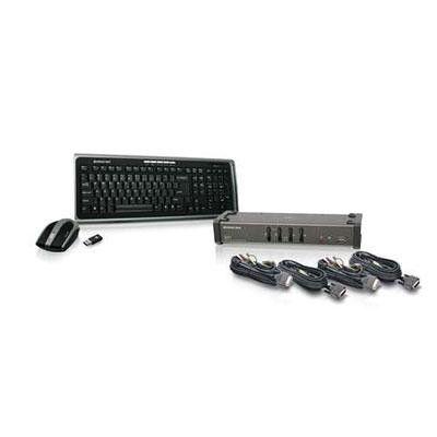 4 port DVI KVMP USB Switch - IOGear - GCS1104-KM1