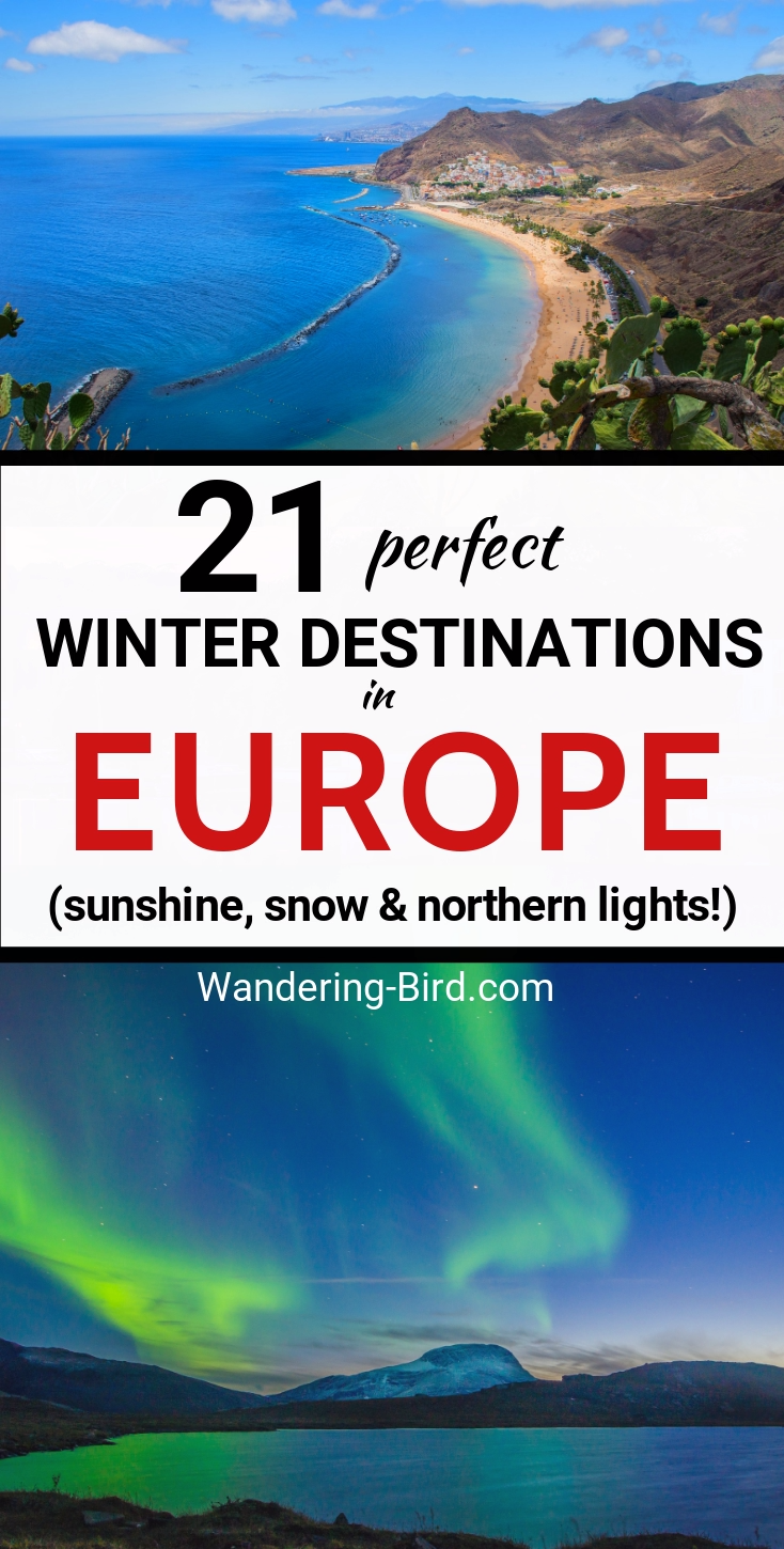 21 Best European cities to visit in Winter (for sun, snow or Northern Lights!)