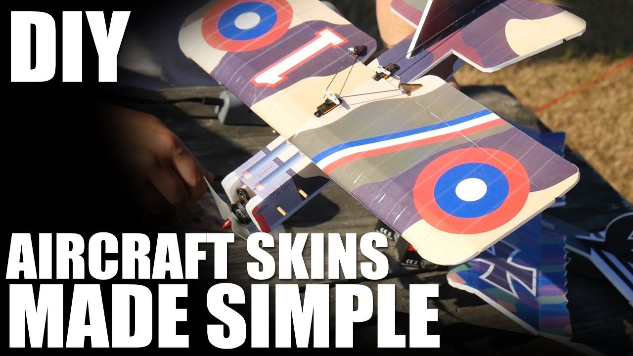 Aircraft Skins Made Simple - (DIY Sticker Kit) | Flite Test