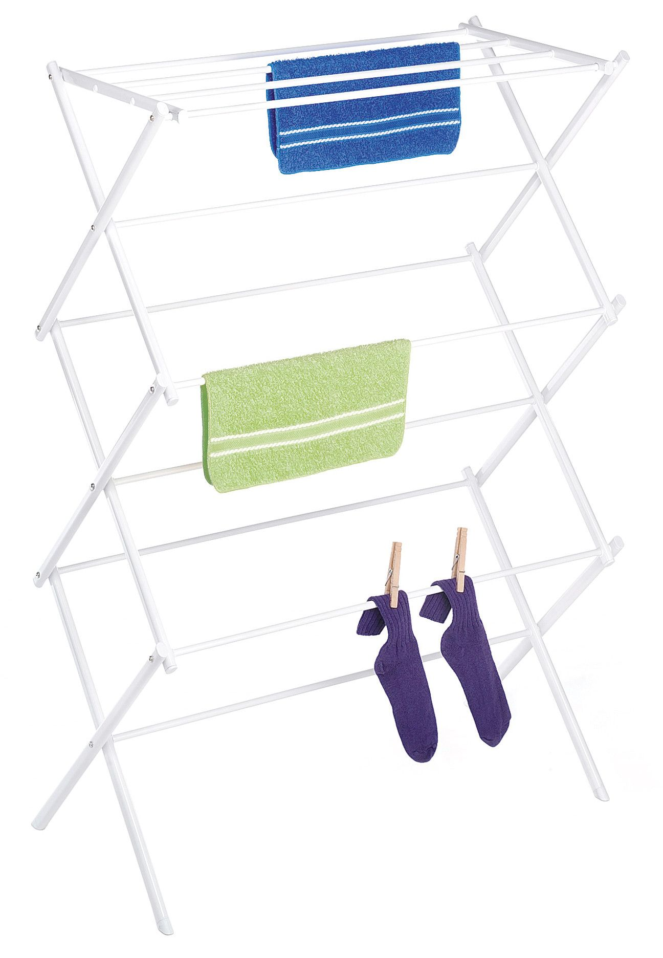 Wire Folding Drying Rack Clothes Drying Racks Drying Clothes Whitmor