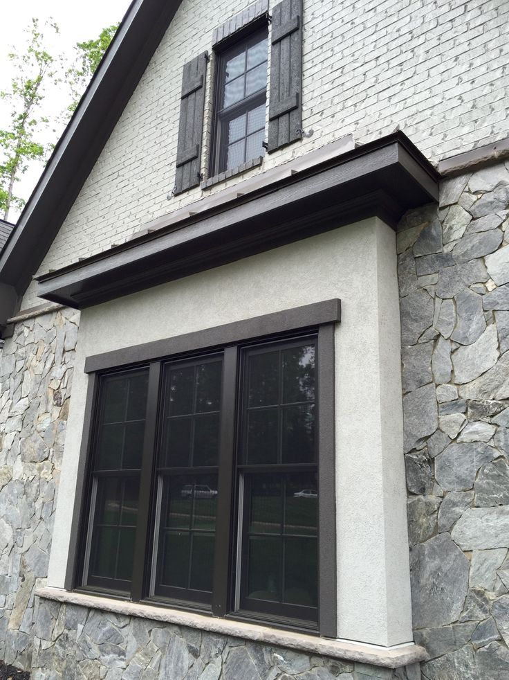 17 Best Images About Best Selling Home Plans On Pinterest: Dark Bronze Exterior Windows Red Brick