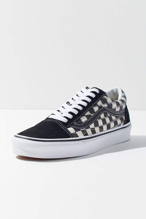 ab144906a88d9a Vans Old Skool Blurred Checkerboard Sneaker in 2019