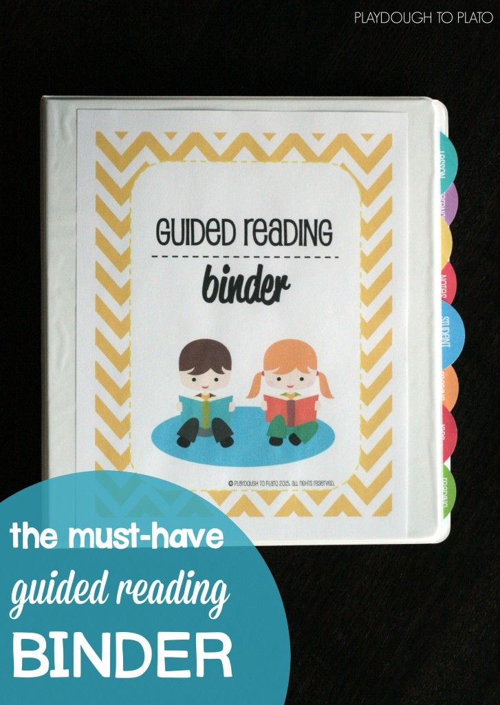 EDITABLE Guided Reading Binder New Teachers Pinterest Guided