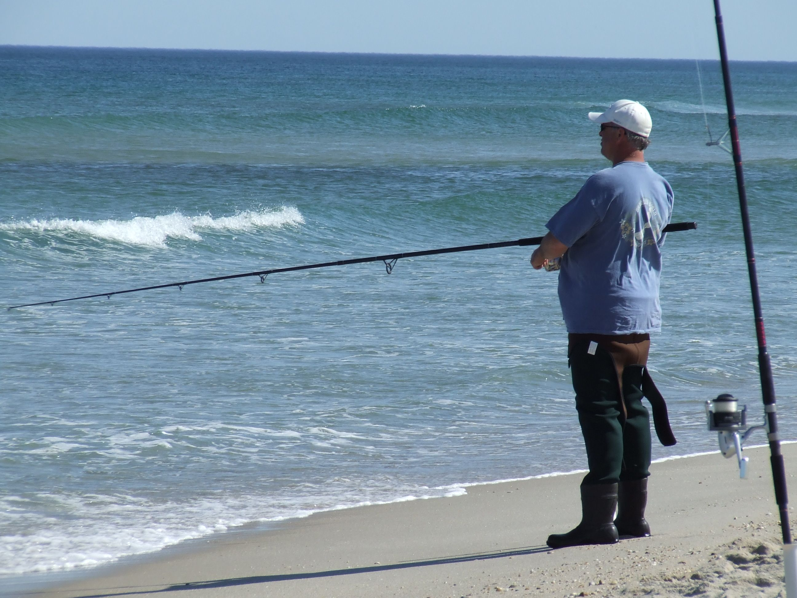 Surf Fishing In Ocean Beach Nj