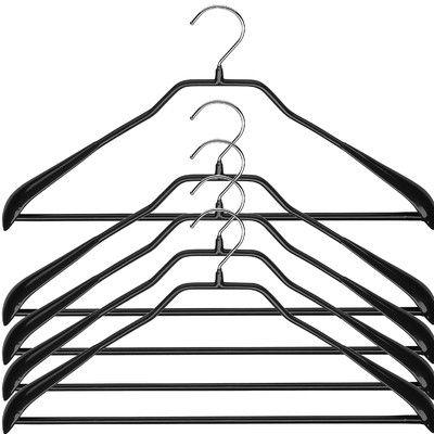 "Mawa Bodyform Non-Slip Hanger Size: 8"" H x 18.5"" W x 1.25"" D"