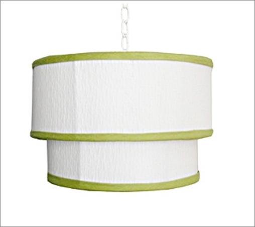 Green & White Pendant Lamp