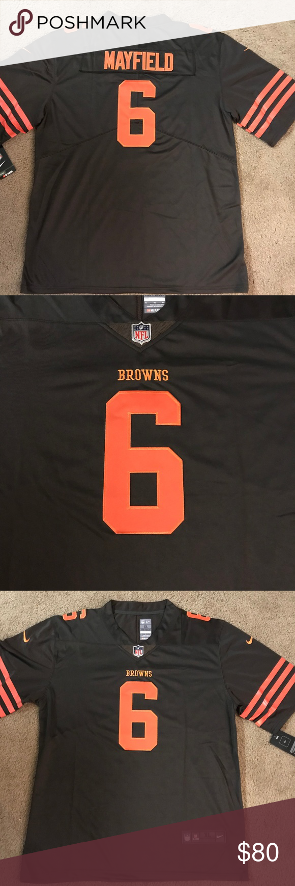 b81b1b6a0 Cleveland Browns Baker Mayfield Jersey Color Rush Get your Baker Mayfield  Jersey here! Men s size