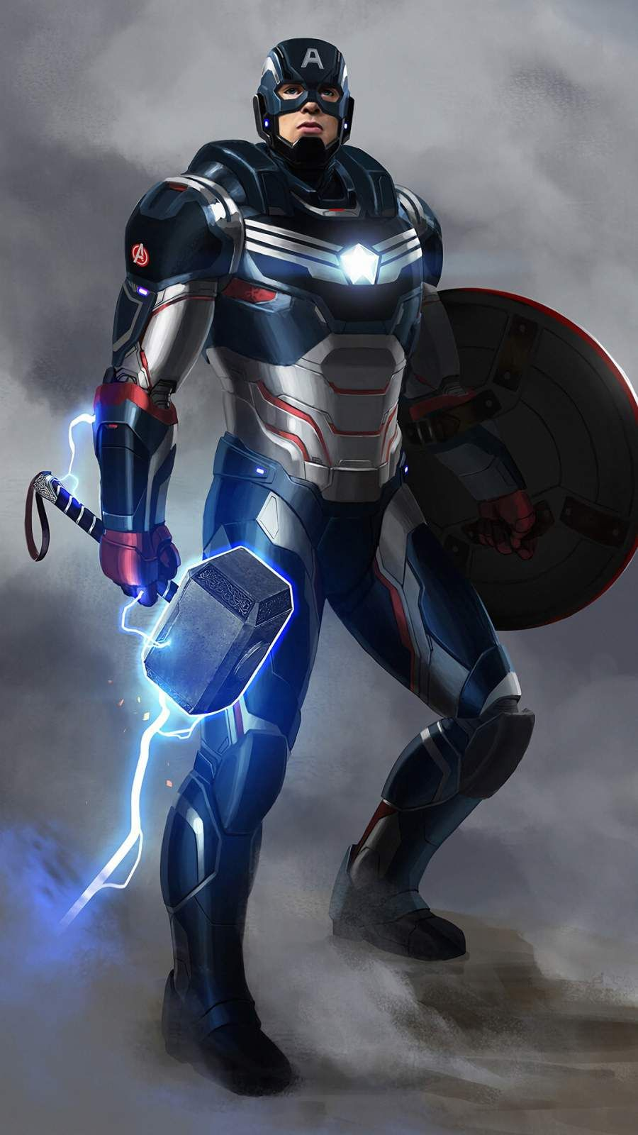 Captain America Armored Iphone Wallpaper In 2020 Marvel Superhero Posters Marvel Comics Superheroes Captain America Artwork