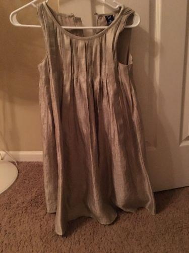 Girls Gold GAP Holiday Dress Size M (8) https://t.co/cf7zQdRdvJ https://t.co/8WkGKmtx93