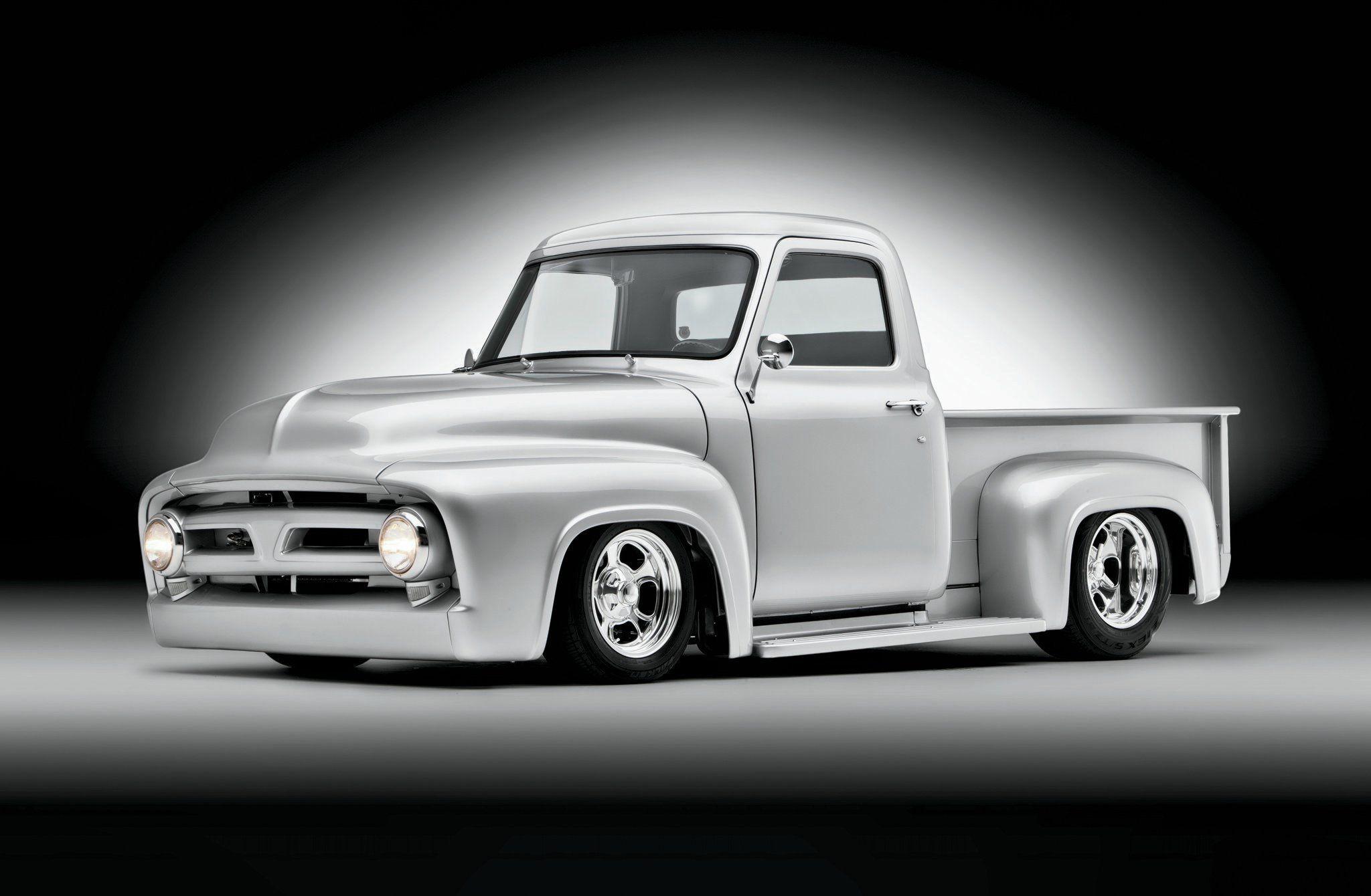 hight resolution of 1953 ford f 100 hi ho silver hot rod network