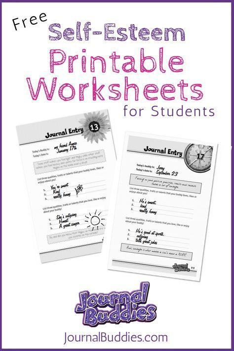 More Than 13 000 Free Writing Ideas Self Esteem Worksheets Self Esteem Activities Therapy Worksheets Printable self esteem worksheets