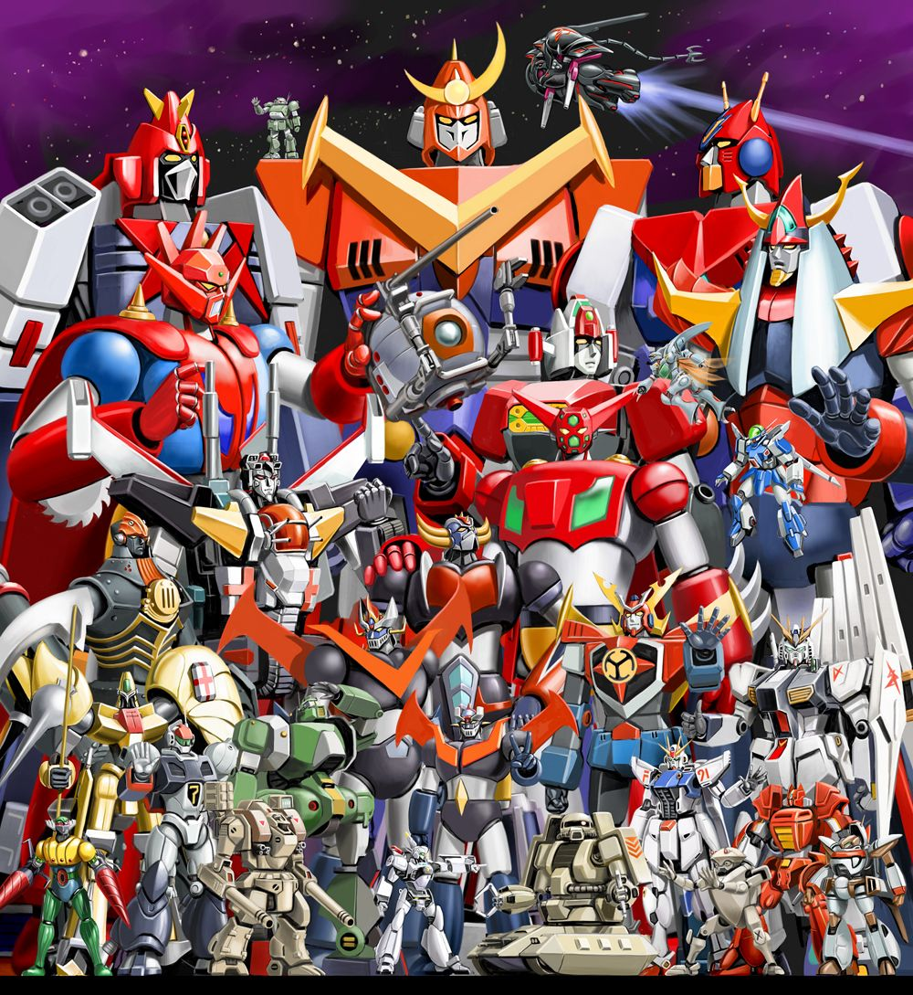 "shitdisco: "" ese-nihil: "" mitsaabishii: "" Collection of Super Robots and Mecha. "" "" hnngghh """